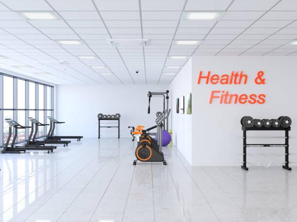 Modern Gym stock photo