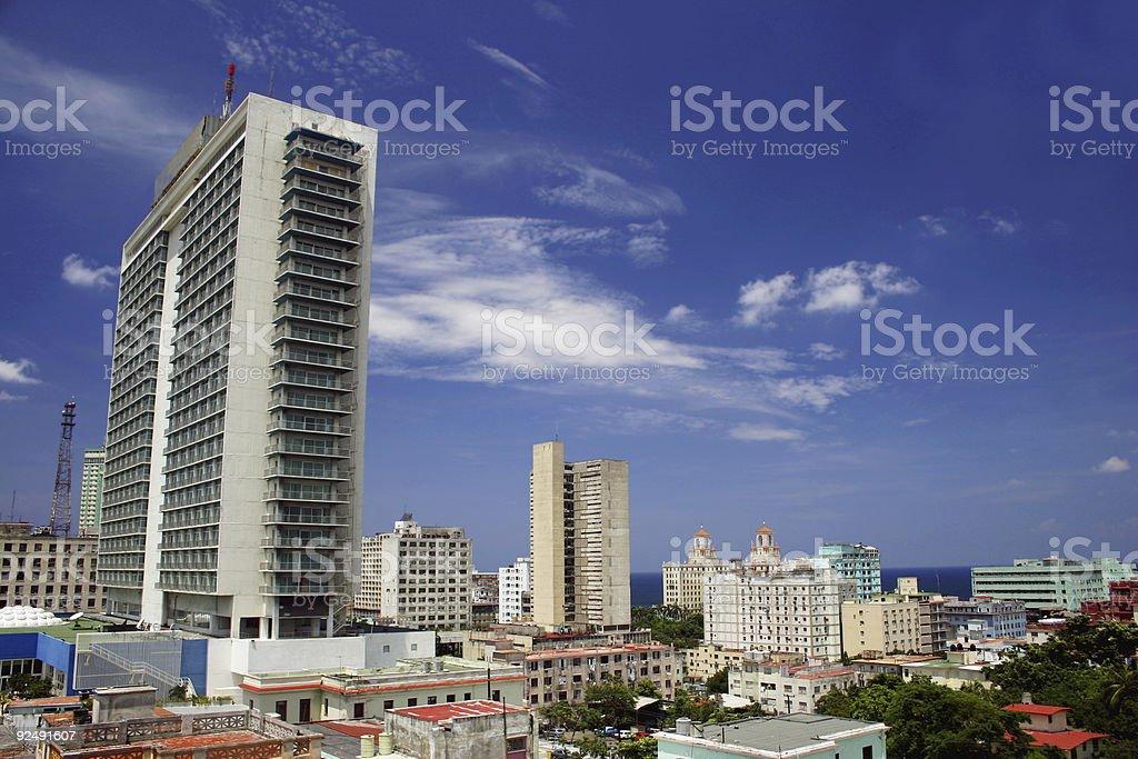 Modern Habana Skyline royalty-free stock photo