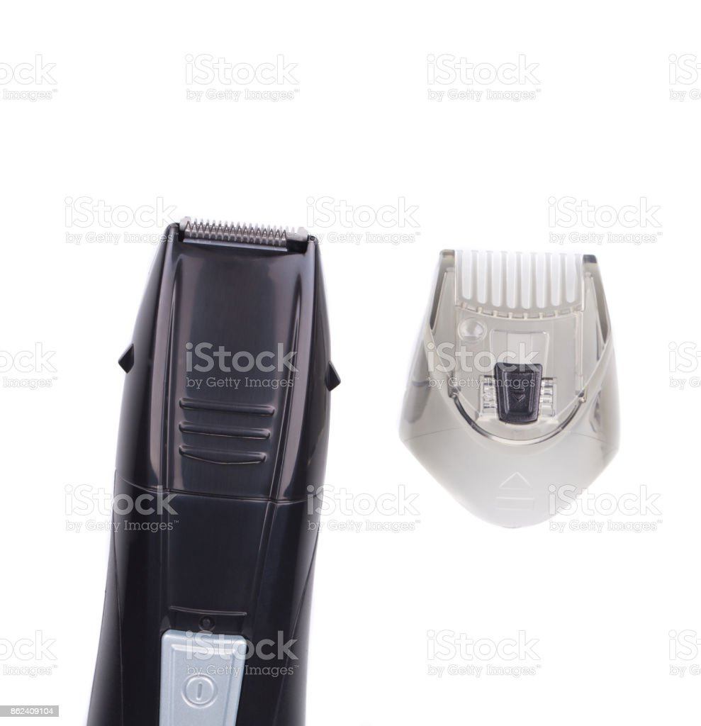 Modern hairclipper. stock photo