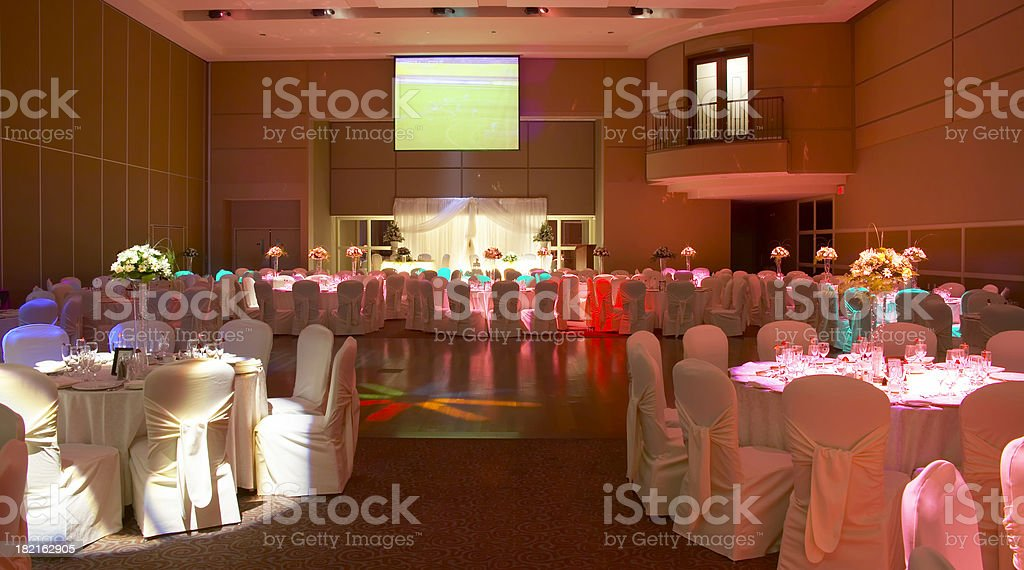 Modern Hall royalty-free stock photo