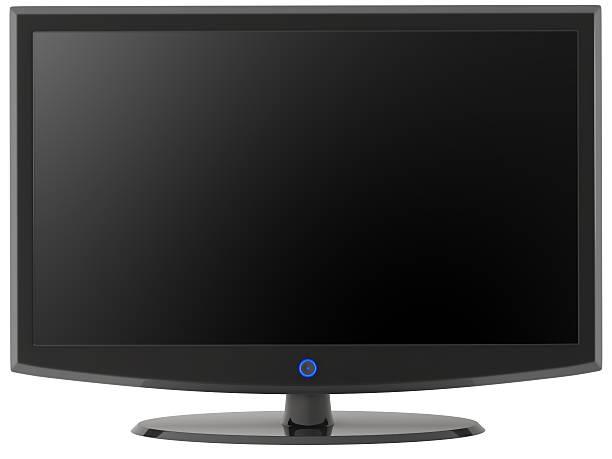 modern hd tv series stock photo