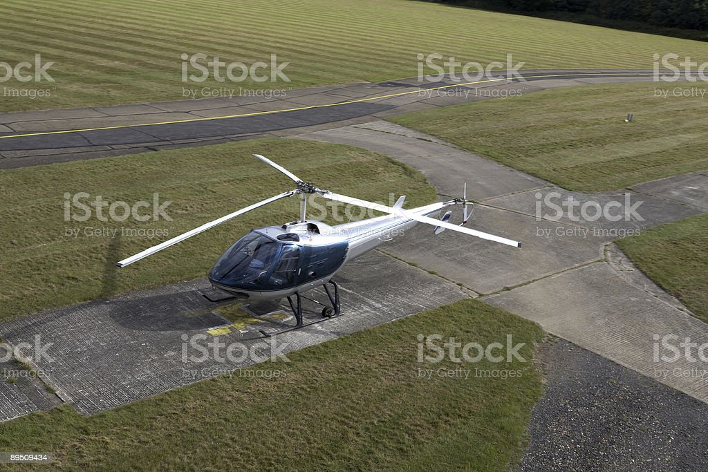 Modern Helicopter royalty-free stock photo
