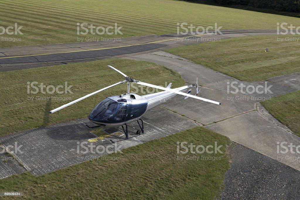Hélicoptère moderne photo libre de droits