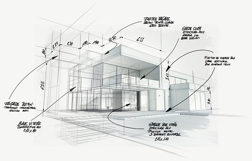 Modern high end architecture project
