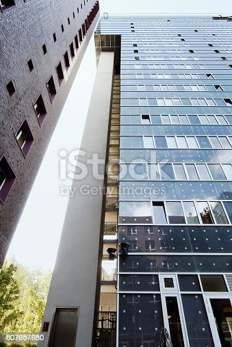 istock Modern high rise buildings in Hamburg, Germany 807657680