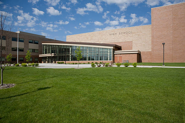 Modern High School Newly constructed modern High SchoolOthers you may like: high school building stock pictures, royalty-free photos & images