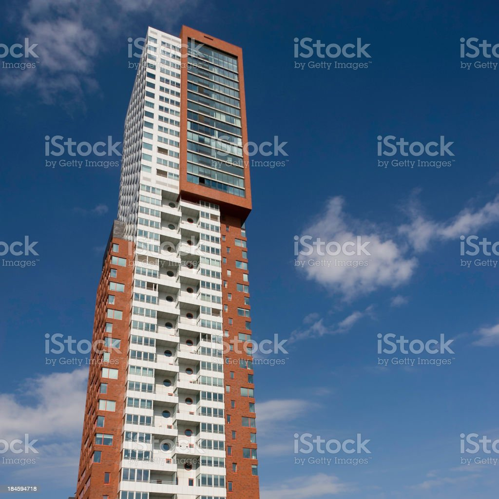modern high-rise apartment building royalty-free stock photo