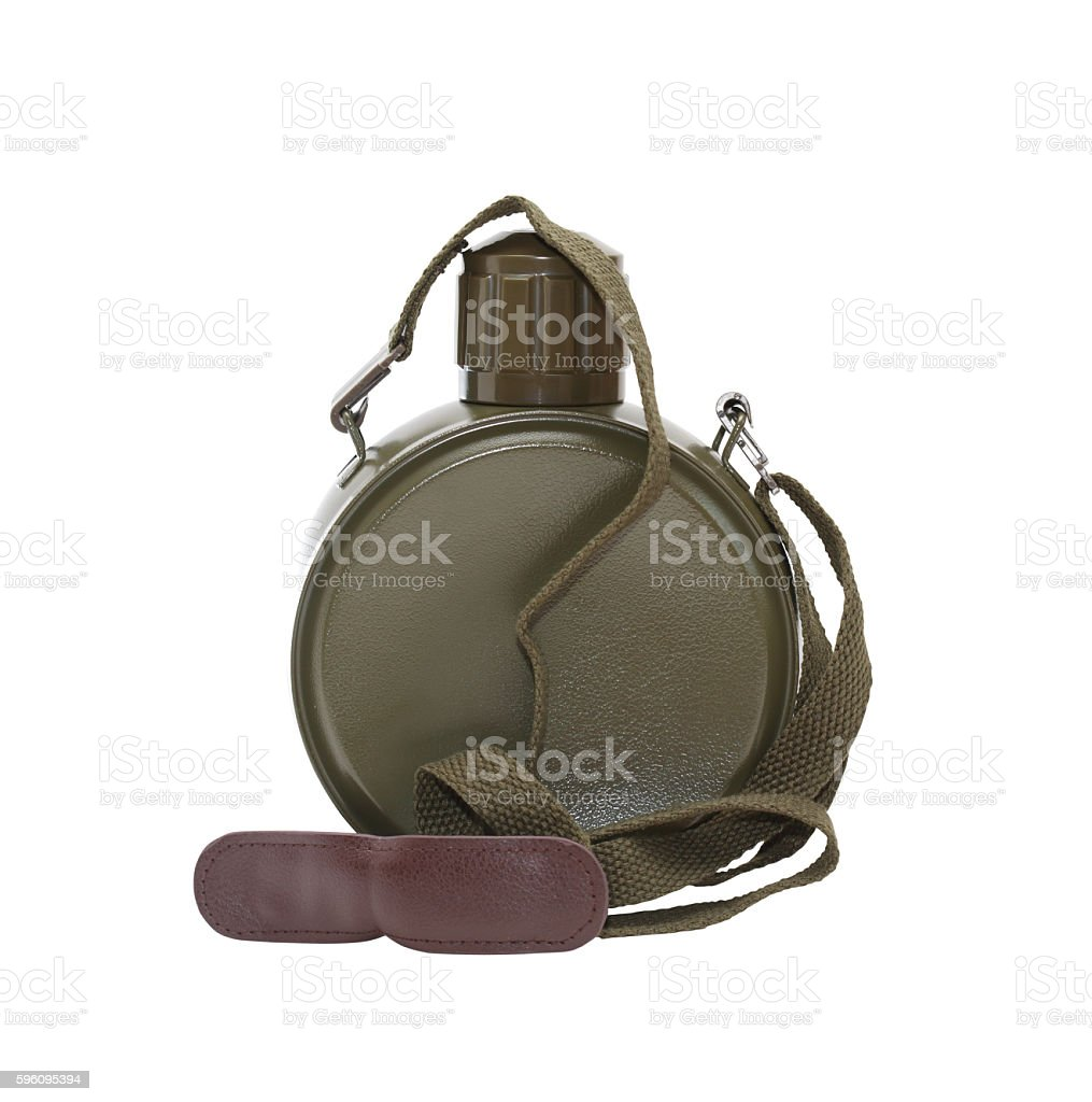 Modern Hiking Flask royalty-free stock photo
