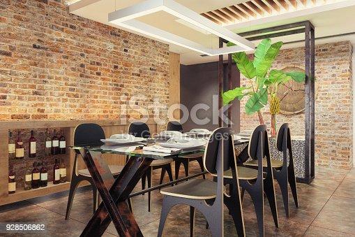 istock Modern hipster apartment interior 928506862