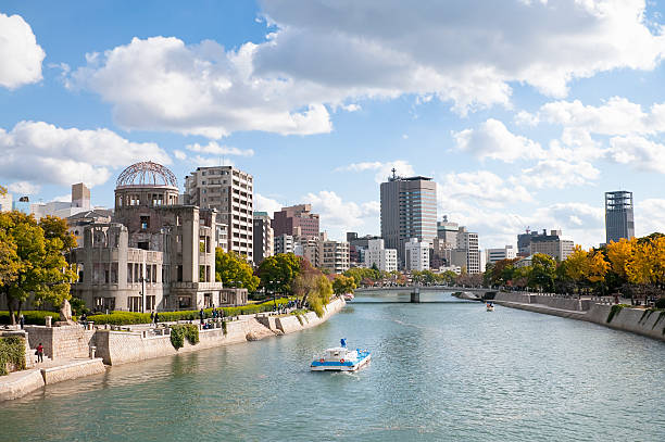 Royalty free hiroshima pictures images and stock photos istock modern hiroshima stock photo thecheapjerseys Image collections