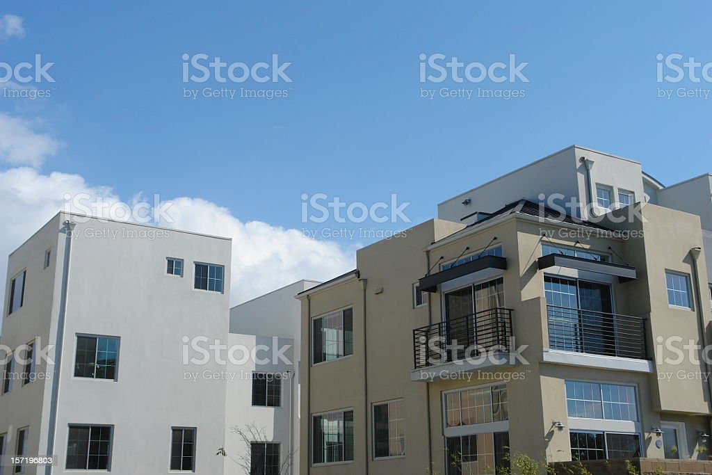 Modern Home Architecture royalty-free stock photo