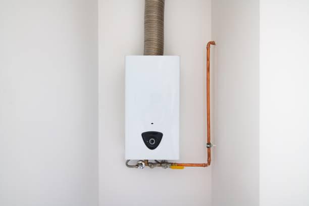Moderne HausGas-Wassererhitzer – Foto