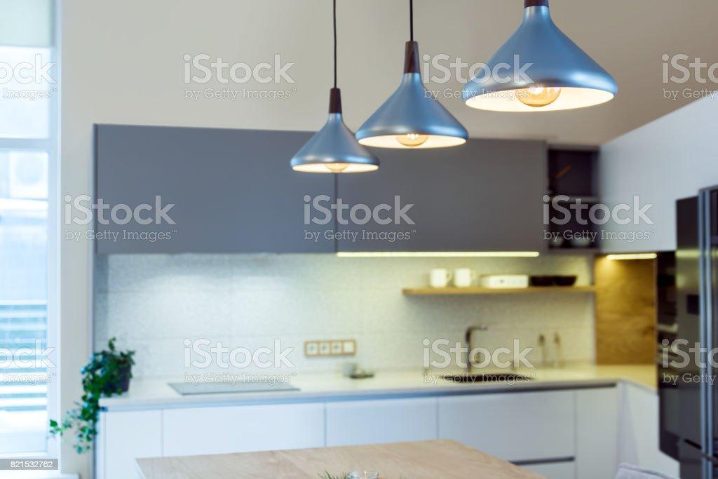 Modern Home Interior Modern Kitchen Design In Light Interior
