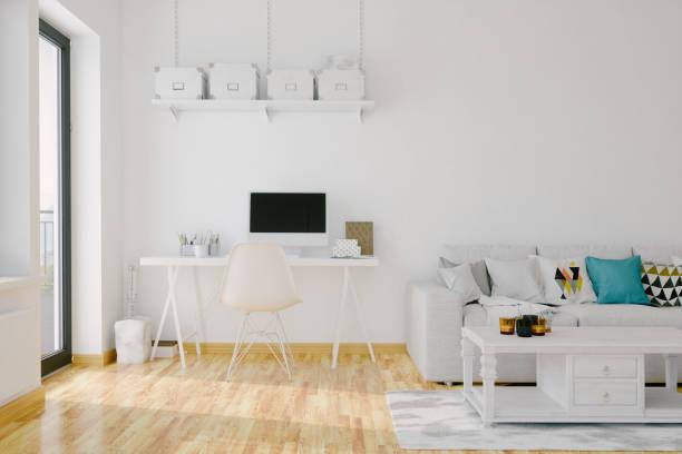 Modernes Home Office Interieur – Foto