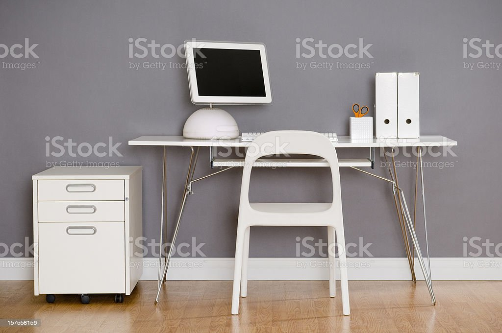 Modern Home Office royalty-free stock photo