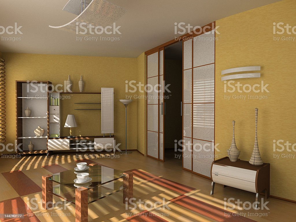 modern hotel interior royalty-free stock photo