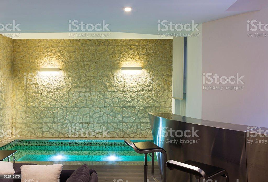 Modernes Hotel Mit Spa Innenansicht Stockfoto und mehr Bilder von ...