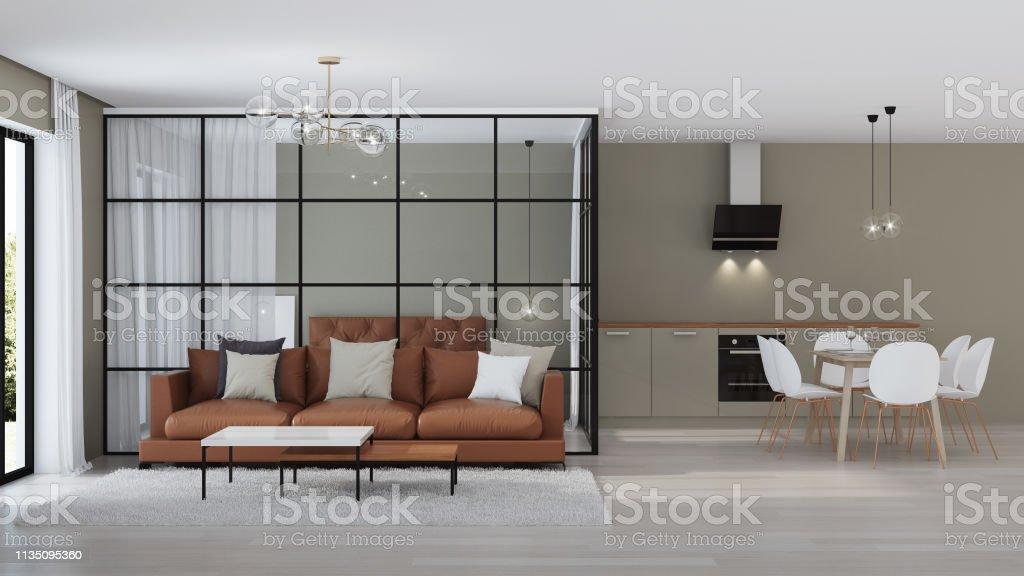 Photo libre de droit de Intérieur De Maison Moderne Chambre ...