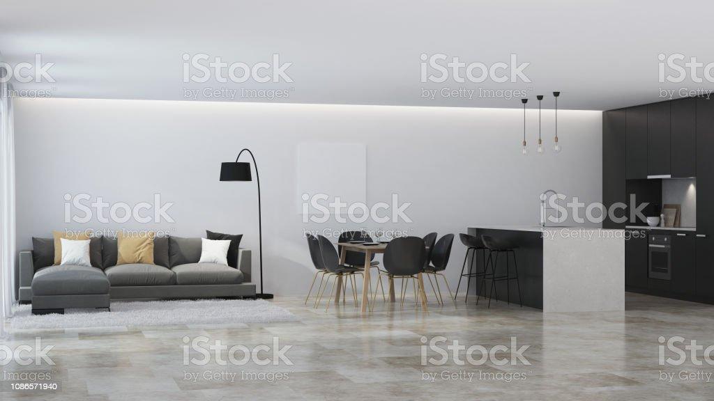 Photo libre de droit de Intérieur De La Maison Moderne ...