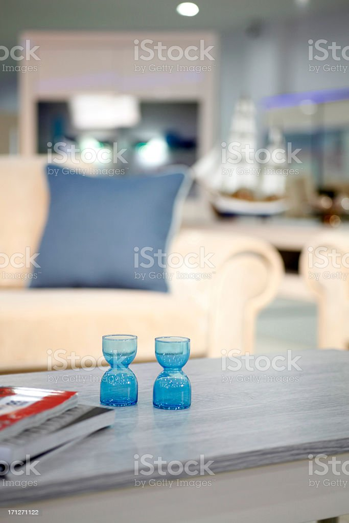 Modern house interior for new house royalty-free stock photo