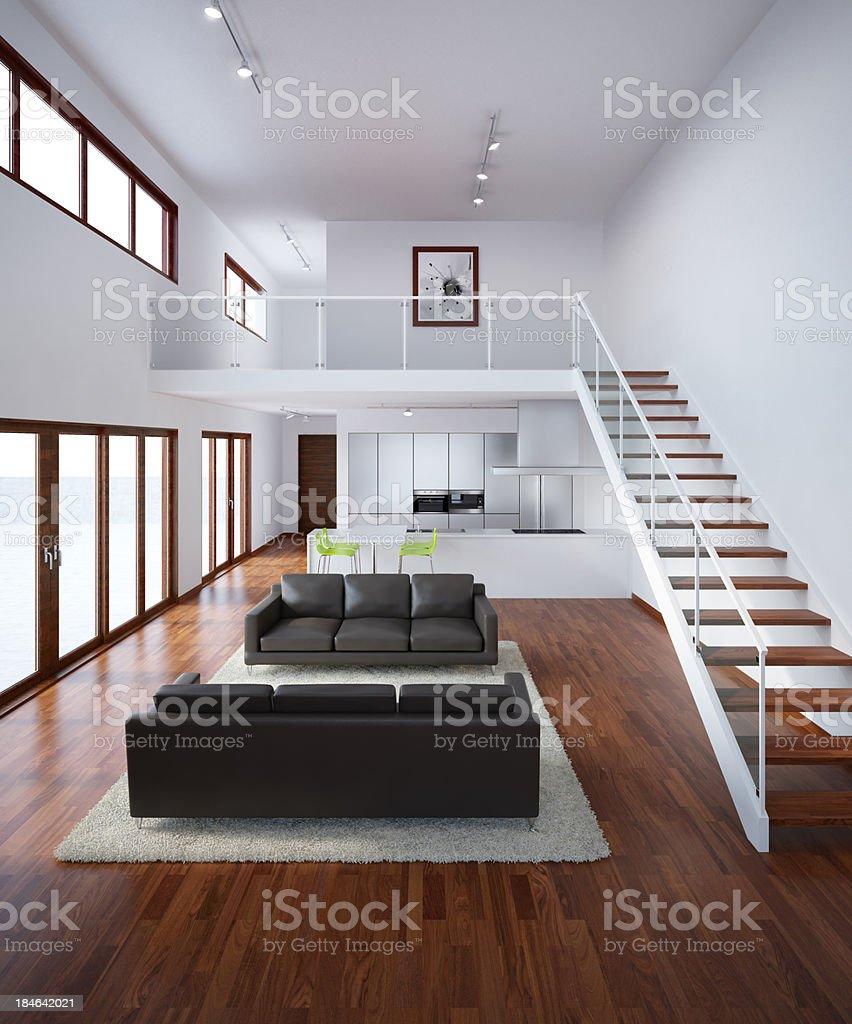 Modernes Haus Innenansicht Stockfoto 184642021 | iStock