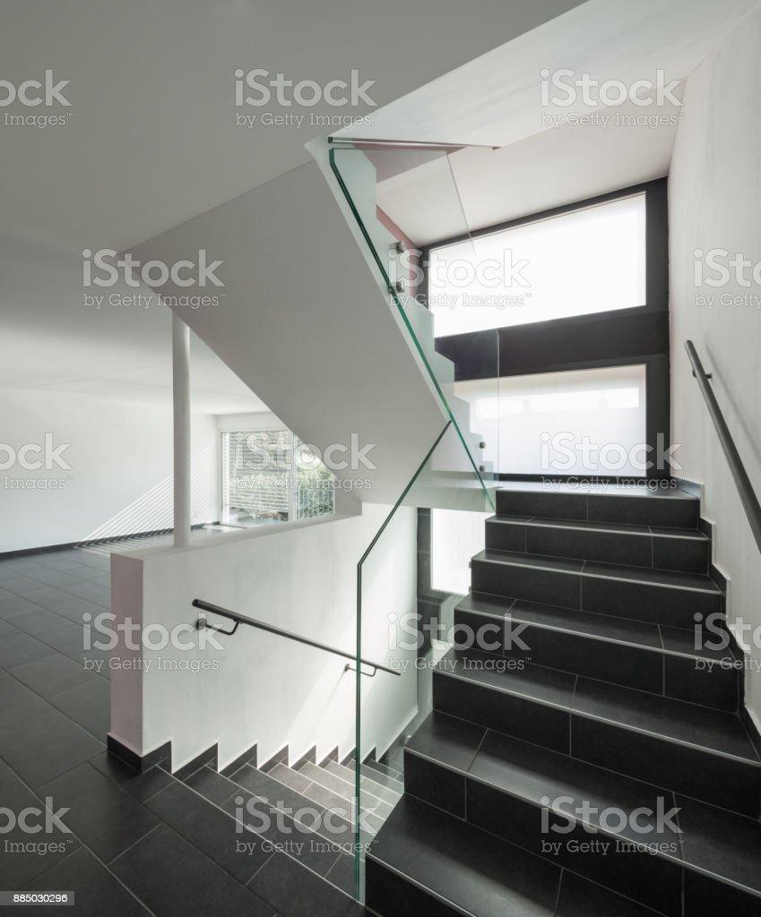 Interieur Maison Moderne Architecte photo libre de droit de escalier intérieur maison moderne