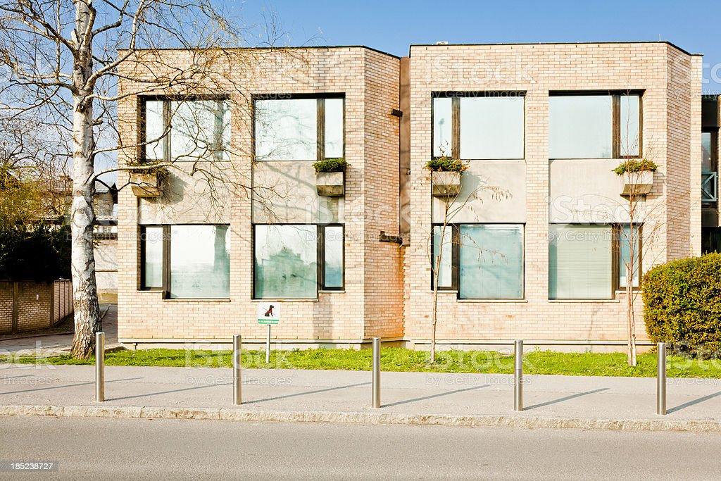 Modern house. royalty-free stock photo