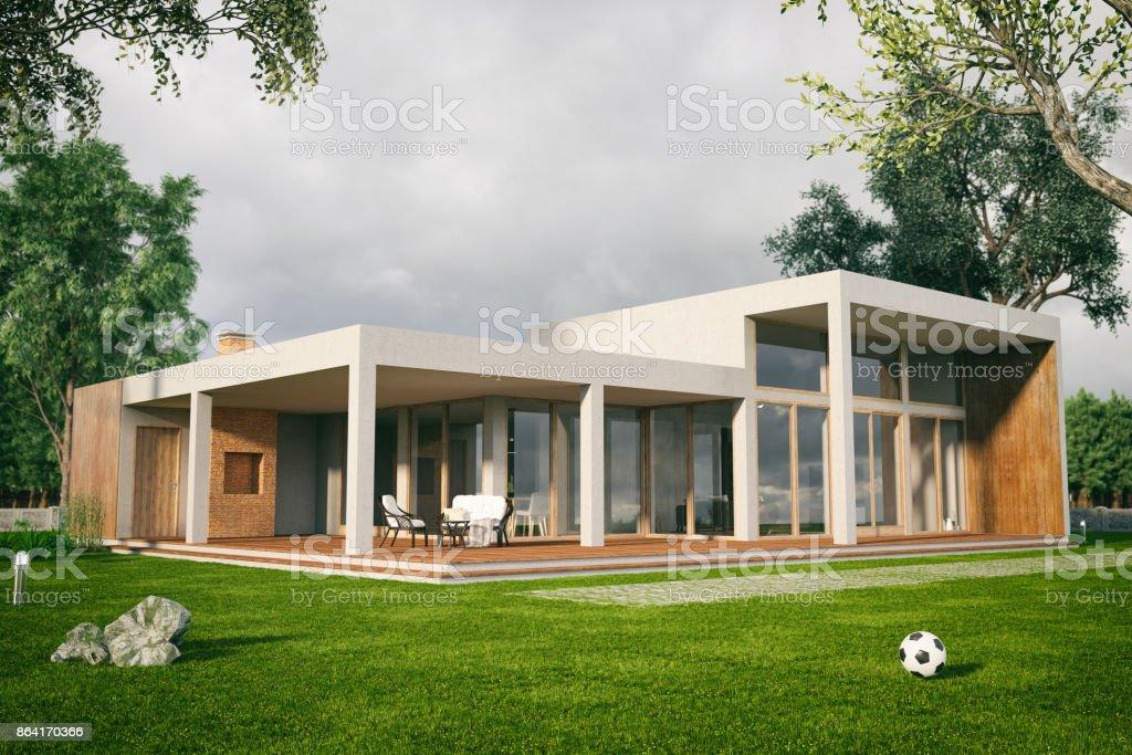 Casa moderna - foto de stock