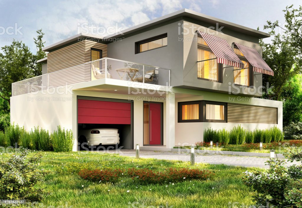modern house with garage and car picture id1151833132 - Getting Down To Basics with