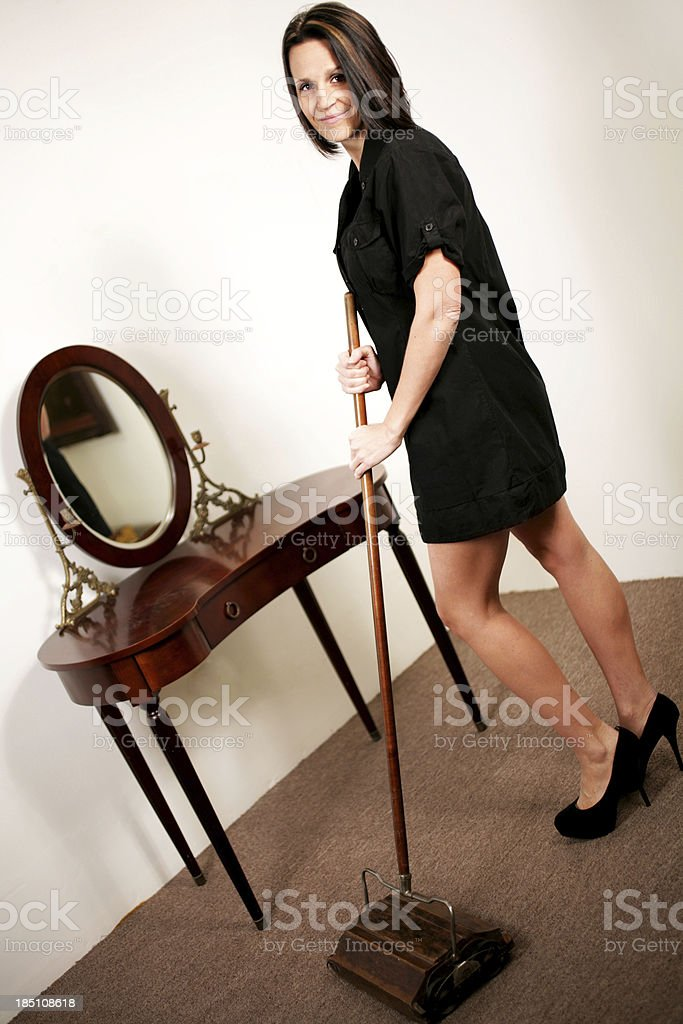 Modern Housewife? stock photo