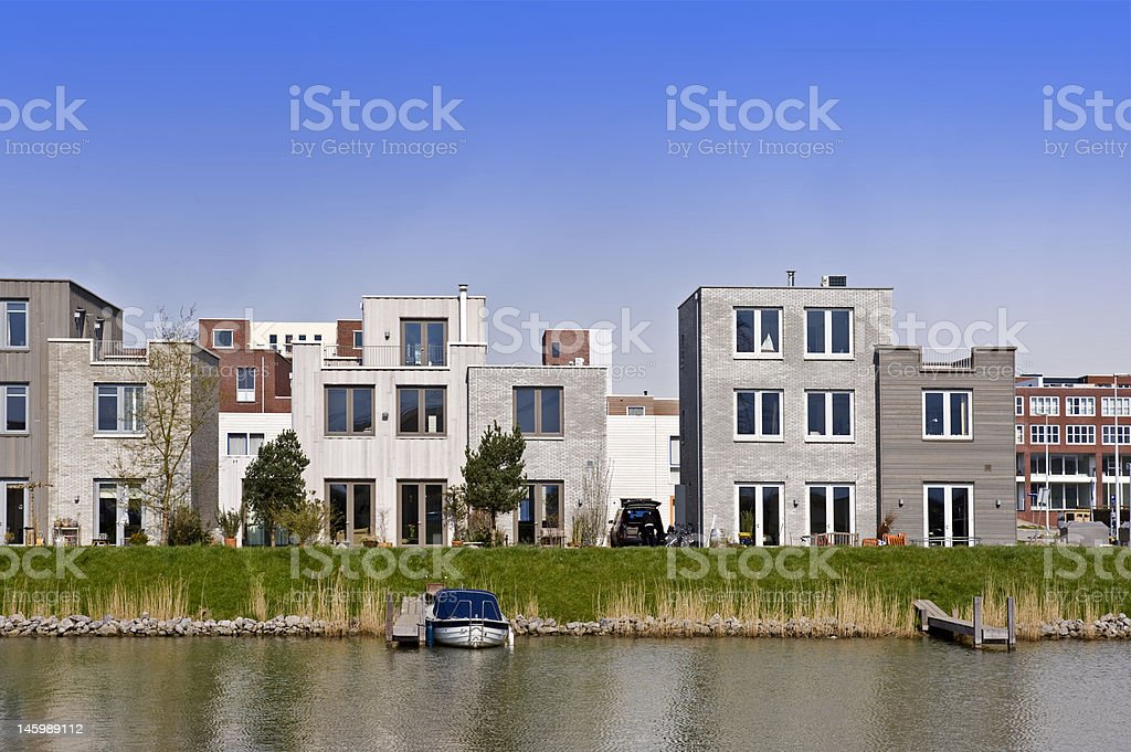 modern housing stock photo