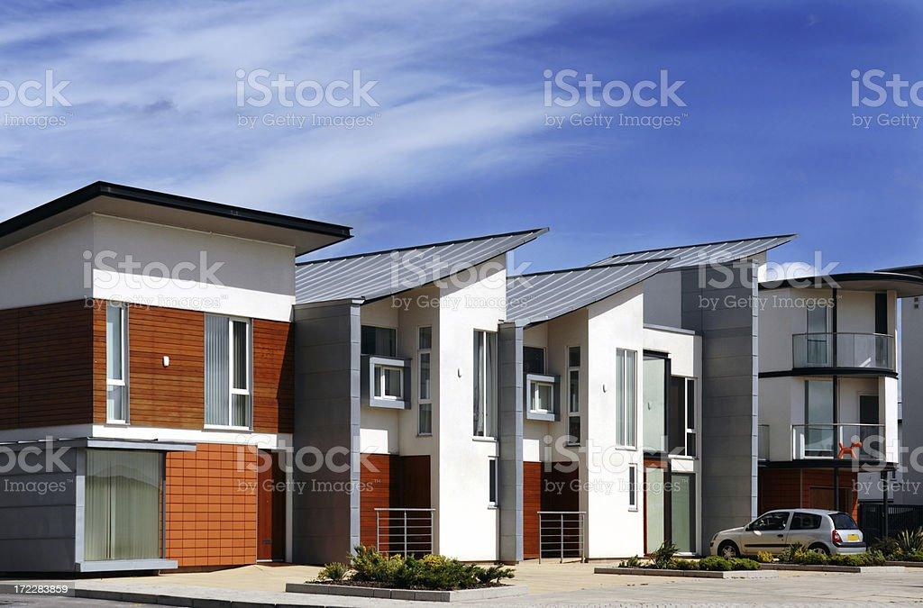 Modern Housing royalty-free stock photo