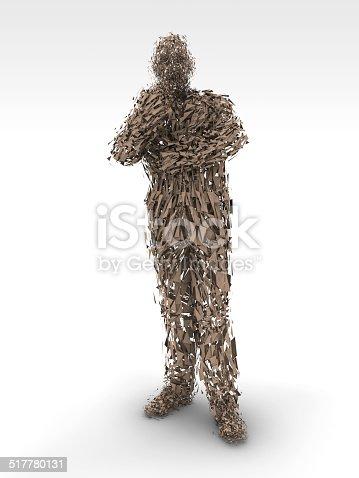 istock Modern Human Sculpture 517780131