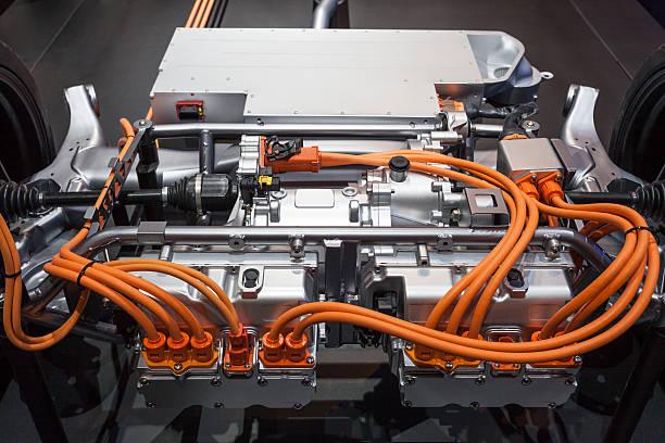 Moderne hybrid-Übertragung – Foto