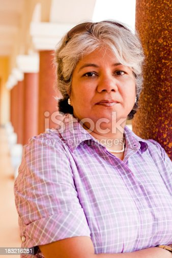 istock Modern Indian Confident Attractive Mid Aged Business Woman 183216281