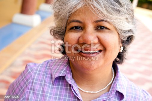 istock Modern Indian Confident Attractive Mid Aged Business Woman 183216699