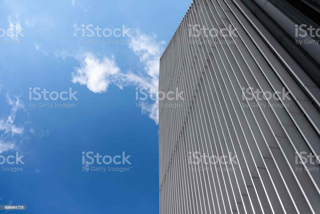 Modern industrial background stock photo