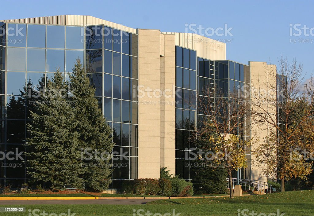 Modern Industrial Building royalty-free stock photo