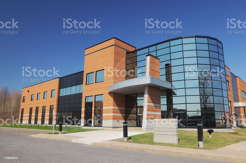 Modern Industry Exterior royalty-free stock photo
