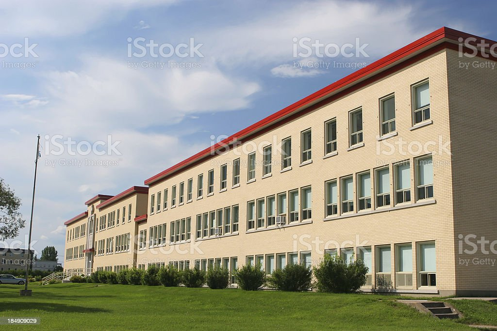 Modern Institute Exterior Building royalty-free stock photo