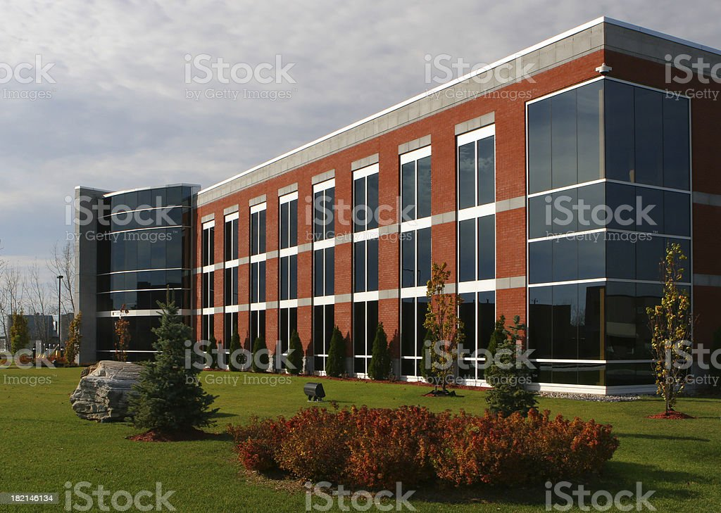 Modern Institution Building stock photo