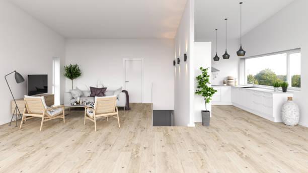 modern interior apartmen - nelleg stock photos and pictures