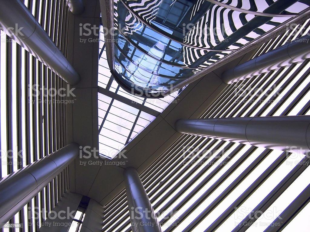 Modern Interior Architecture royalty-free stock photo