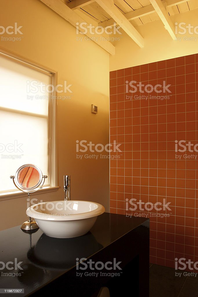 Modern interior  |  Bathroom royalty-free stock photo