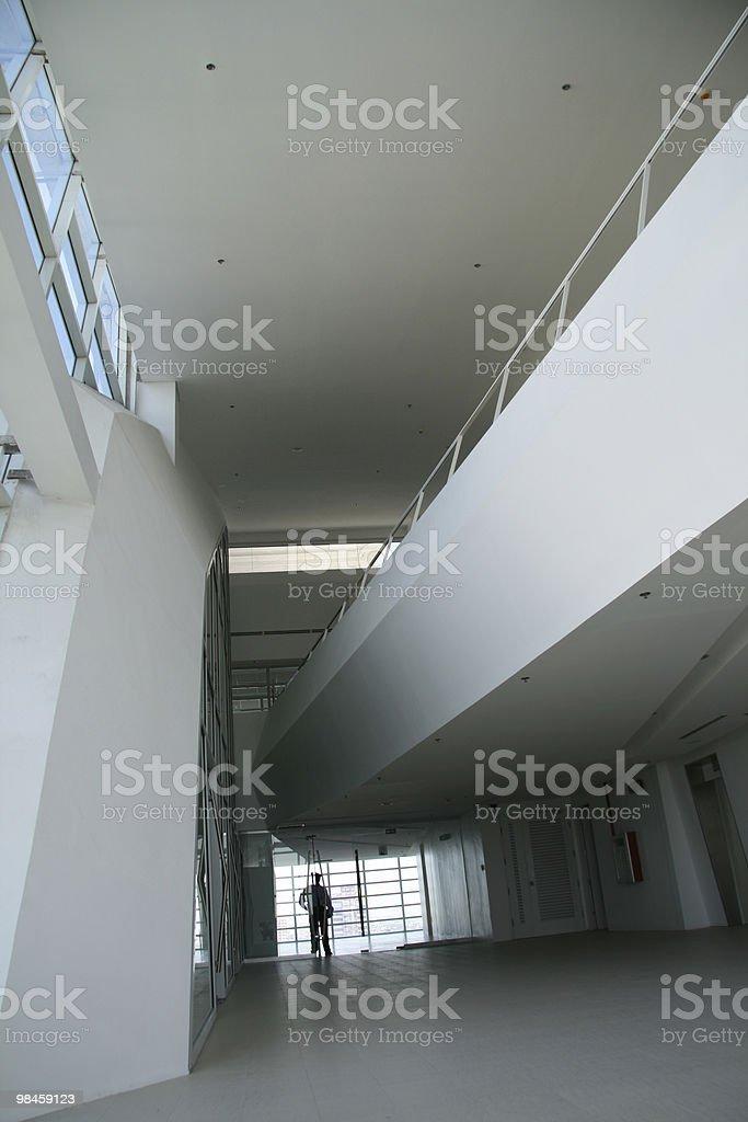 Modern Interior Building royalty-free stock photo