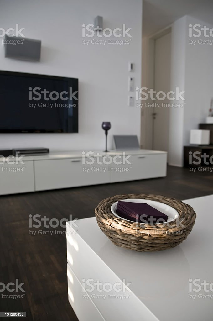 modern interior decoration royalty-free stock photo