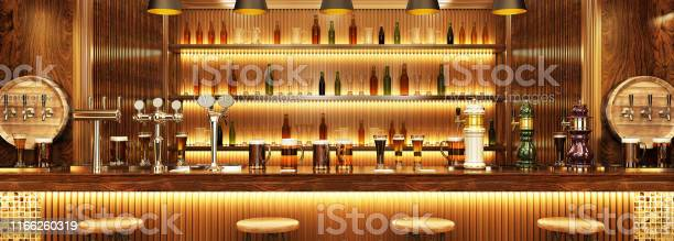 Modern interior design of a european pub beer on the bar picture id1166260319?b=1&k=6&m=1166260319&s=612x612&h=r q2890wtvi xosq0hpgysphpvk34givlsqfkdqil24=