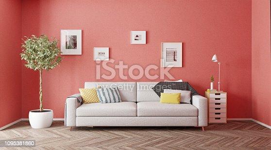 istock modern interior design. 1095381860