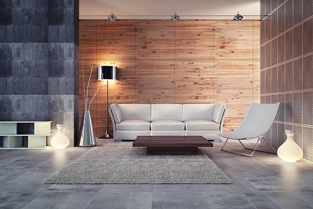 Moderno diseño Interior - foto de stock