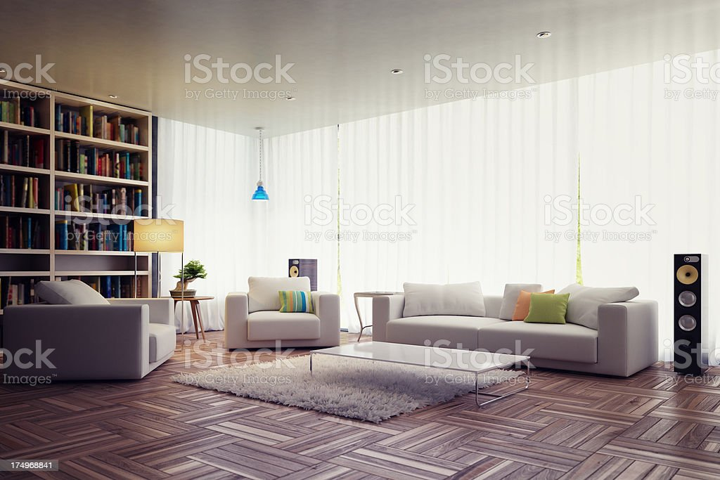 Modern Interior design royalty-free stock photo